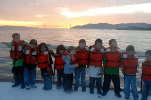 School Charter Sunset Trip