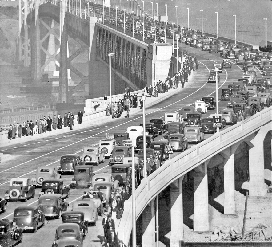 Bay Bridge Parade of Automobiles
