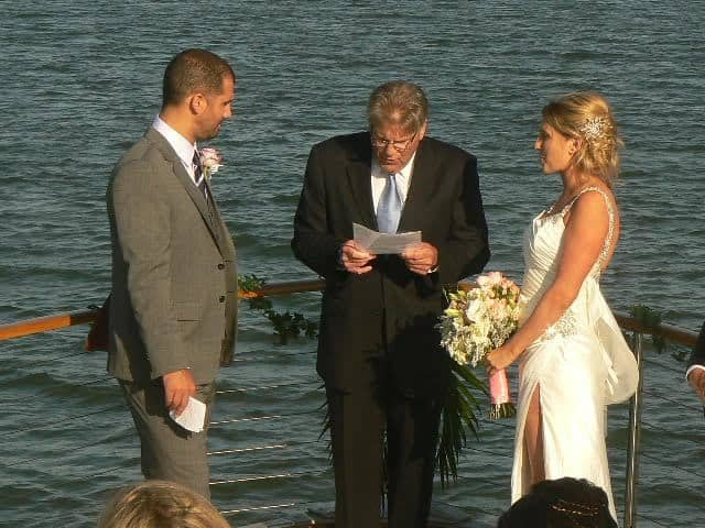 Private yacht weddings in San Francisco Bay